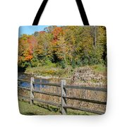 Over The River And Into The Through The Woods  Tote Bag