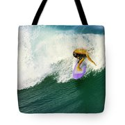 Over The Top Tote Bag by Laura Fasulo
