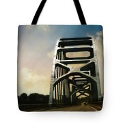 Over Troubled Water Tote Bag
