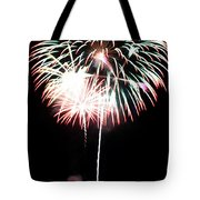 4th Of July Fireworks 4 Tote Bag by Howard Tenke
