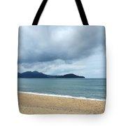 Overcast Beach Tote Bag