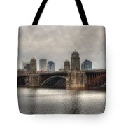 Overcast On The Longfellow Tote Bag by Joann Vitali