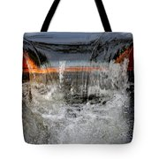 Overflow At The One Mile Tote Bag