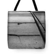 Overflowed Sinlence Tote Bag
