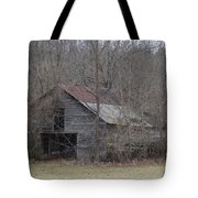 Overgrown Old Horse Barn Tote Bag