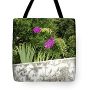 Overhanging Blossoms Yaxcopoil Mexico Tote Bag