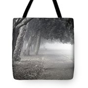 Overhanging Trees Tote Bag