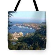 Overlooking Carmel Beach Tote Bag