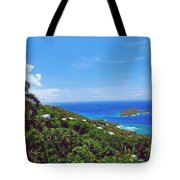 Overlooking Paradise Tote Bag