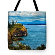 Overlooking Tote Bag by Robert Bales