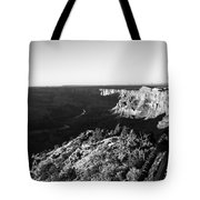 Overlooking The Canyon Tote Bag
