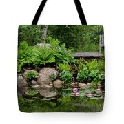 Overlooking The Lily Pond Tote Bag