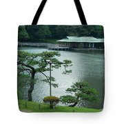 Overlooking The Tea House Tote Bag