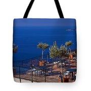 Overlooking Tyrrhenian Sea Tote Bag