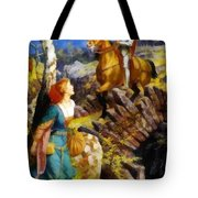Overthrowing Of The Rusty Knight  Tote Bag