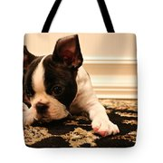 Overtired Tote Bag