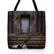 Overturned Tote Bag by Margie Hurwich