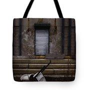 Overturned Tote Bag