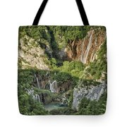 Overview Of Plitvice Tote Bag