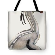 Oviraptor, A Small Dinosaur That Lived Tote Bag