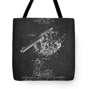 Owen Revolver Patent Drawing From 1899- Dark Tote Bag