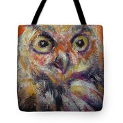 Owl Aceo Tote Bag