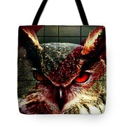 Owl By Day Owl By Night Tote Bag