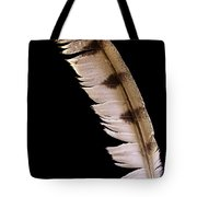 Owl Feather Tote Bag