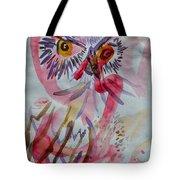 Owl In The Fresh Air Tote Bag