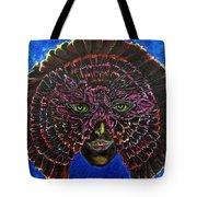 Owl Mask Self Portrait Tote Bag