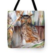Owl Series - Owl 2 Tote Bag