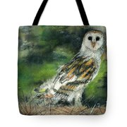 Owl Series - Owl 3 Tote Bag