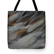 Owl Feathers Tote Bag