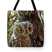 Owls From Amado Arizona Tote Bag