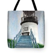 Owls Head Up To The Light Tote Bag