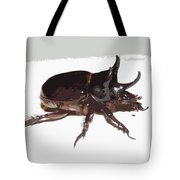 Ox Beetle Abstract Tote Bag