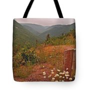 Ox-eye Daisies On Skyline Trail In Cape Breton Highlands Np-ns Tote Bag