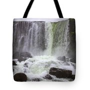 Oxarafoss Waterfall Tote Bag