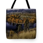 Oxbow Bend In The Wenatchee River Tote Bag
