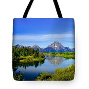 Oxbow Bend Tote Bag by Robert Bales