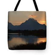 Oxbow Sunset Tote Bag