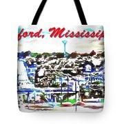 Oxford Mississippi 38655 Tote Bag
