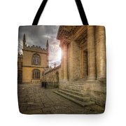 Oxford University - History-sheldonian-divinity Tote Bag