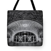Oyster Bar Bw Tote Bag