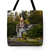 Oysterville Church Tote Bag