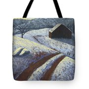 Ozark Winter Barn Tote Bag