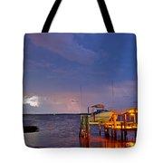 Ozona Pier  Tote Bag