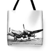 P 38 Lightning Tote Bag
