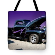 P P - Purple Pickup Tote Bag