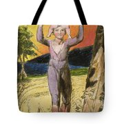 P.124-1950.pt29 Frontispiece To Songs Tote Bag by William Blake